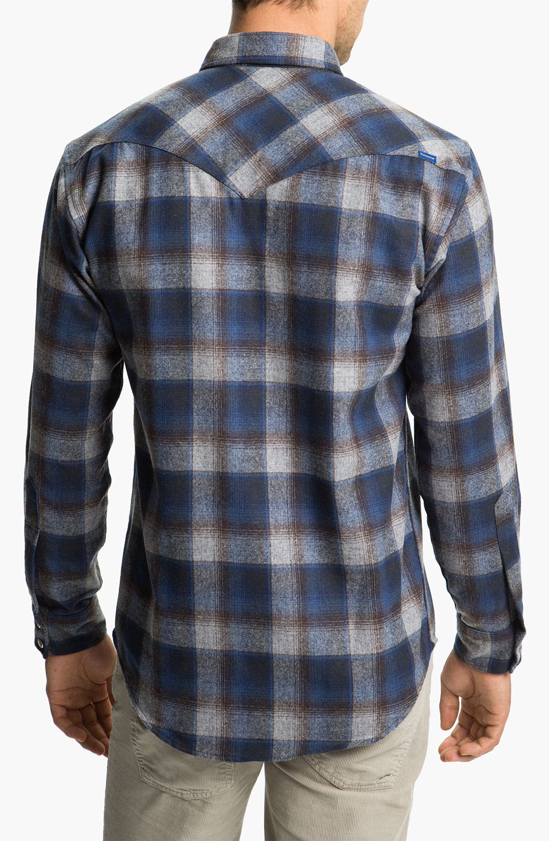 Alternate Image 2  - Pendleton 'Canyon' Western Flannel Shirt