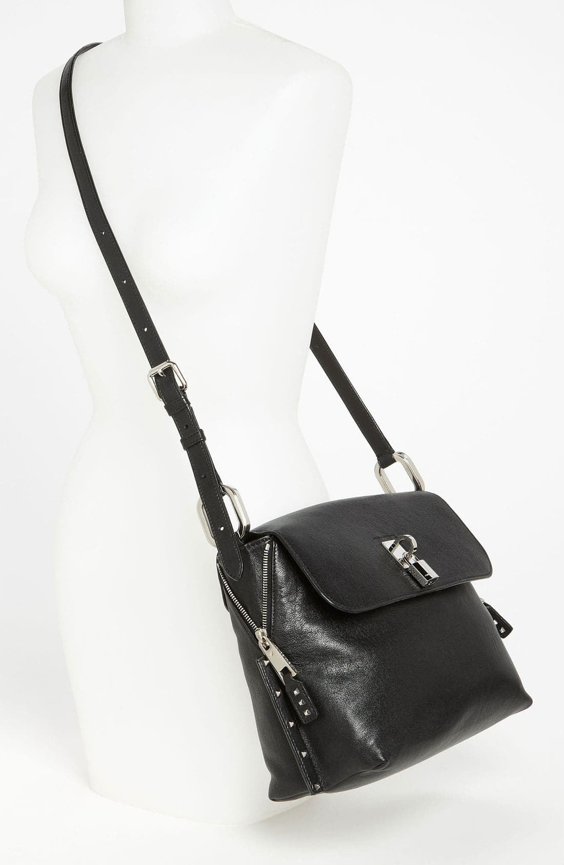 Alternate Image 2  - MARC JACOBS 'Paradise Baxter' Lambskin Leather Crossbody Bag
