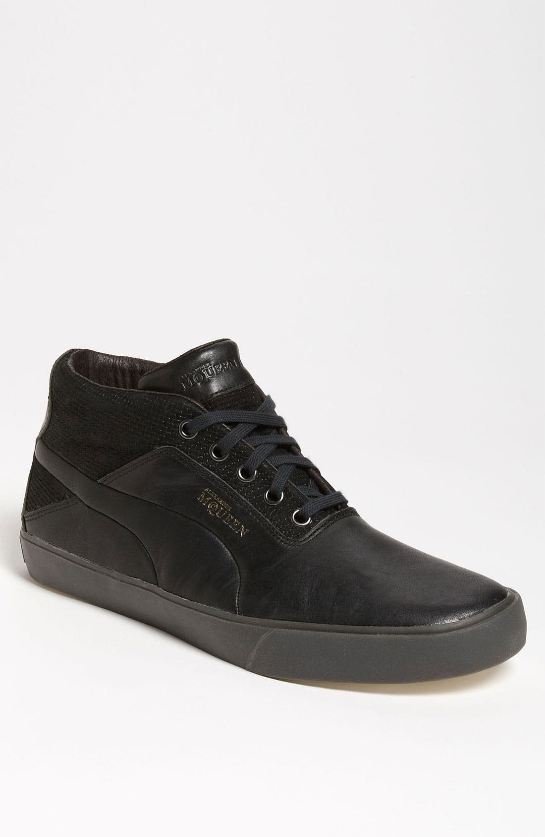 Main Image - PUMA 'Alexander McQueen - Deck Mid' Sneaker