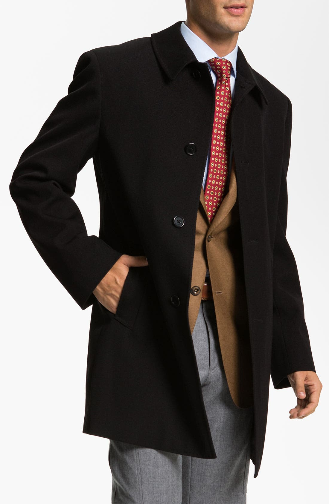 Main Image - Cardinal of Canada Storm System Overcoat