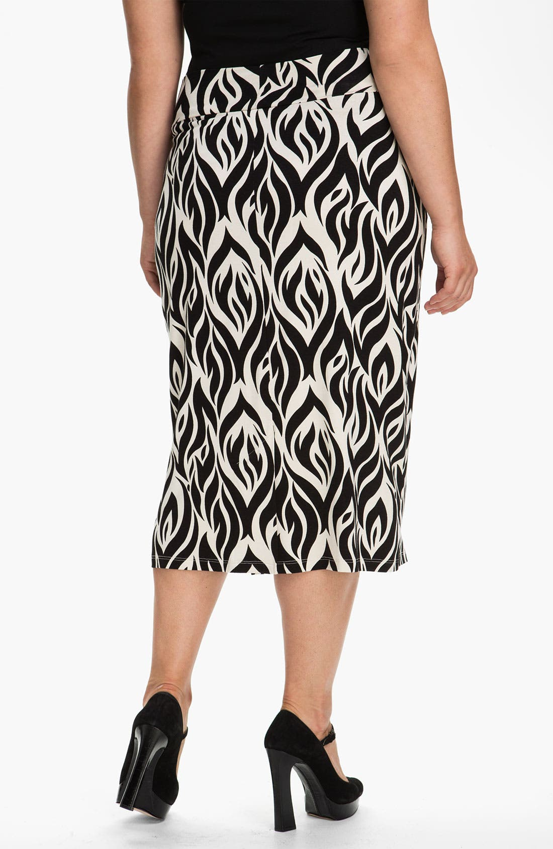 Alternate Image 2  - Rachel Pally 'Bonnie' Print Knit Skirt (Plus)