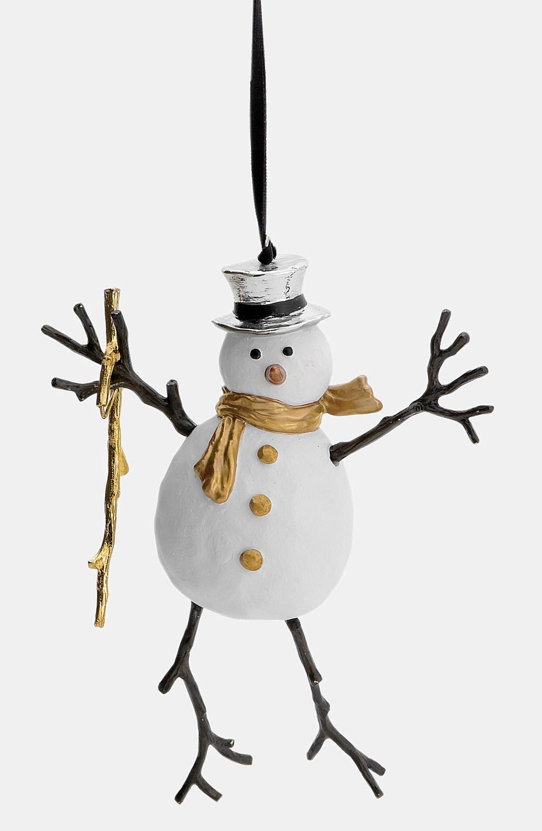 Alternate Image 1 Selected - Michael Aram Snowman Ornament