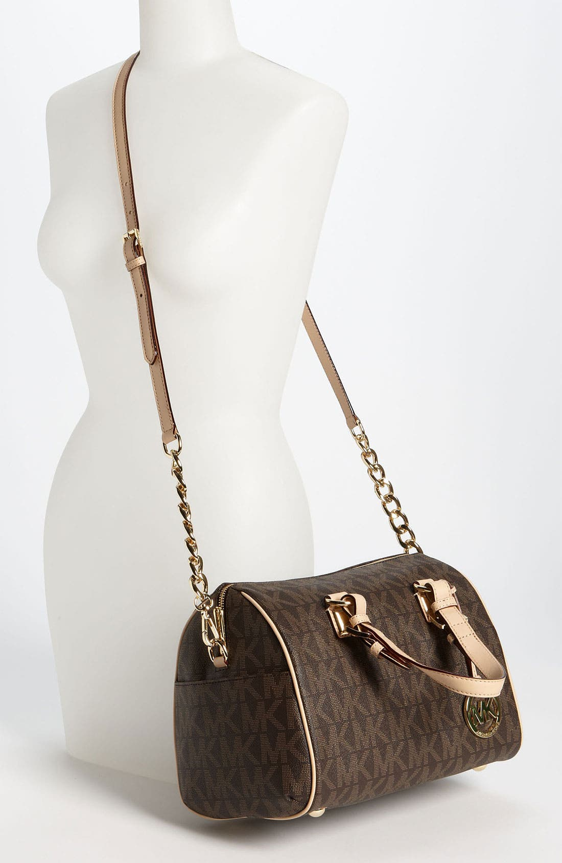 Alternate Image 2  - MICHAEL Michael Kors 'Grayson Logo - Chain' Satchel