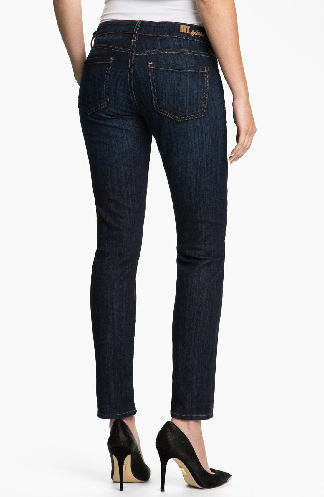 Alternate Image 4  - KUT from the Kloth 'Catherine' Boyfriend Jeans (Petite)