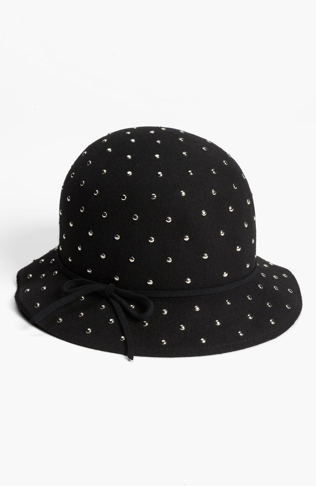 Main Image - San Diego Hat Studded Wool Cloche