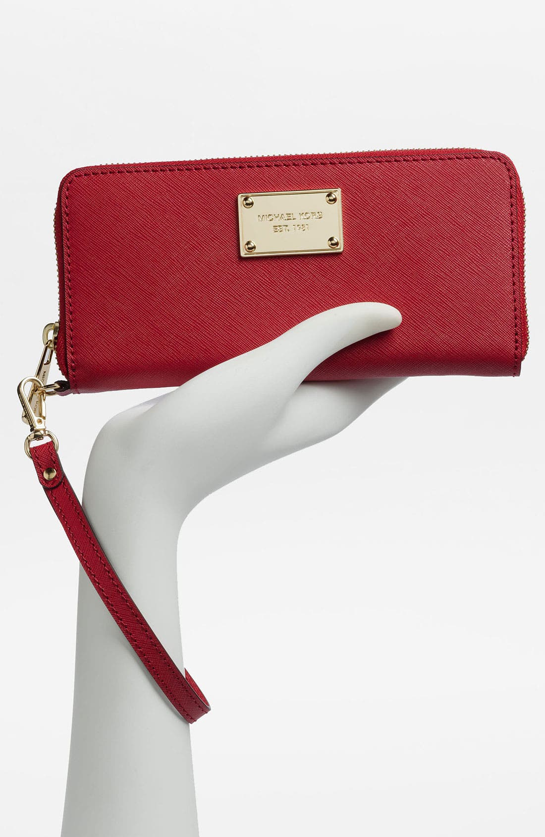 Alternate Image 4  - MICHAEL Michael Kors 'Jet Set' Continental Phone Wallet