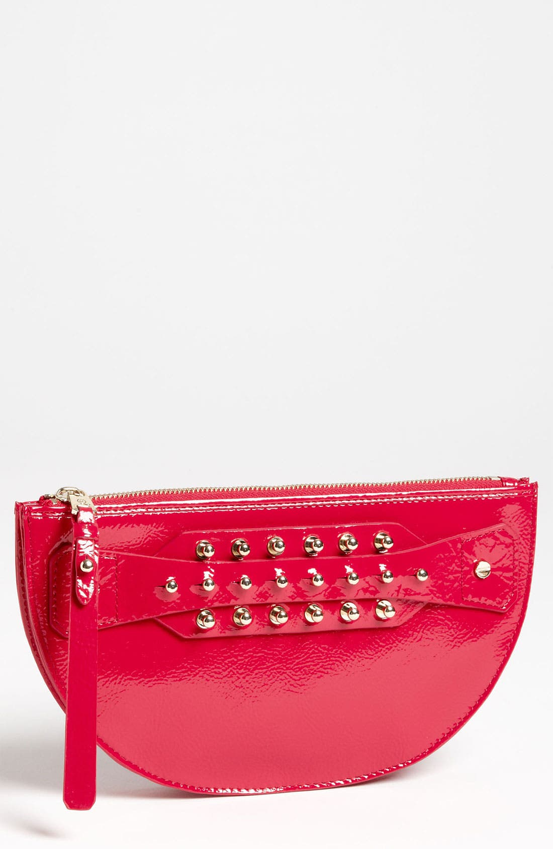 Alternate Image 1 Selected - McQ by Alexander McQueen 'Large' Patent Leather Coin Clutch