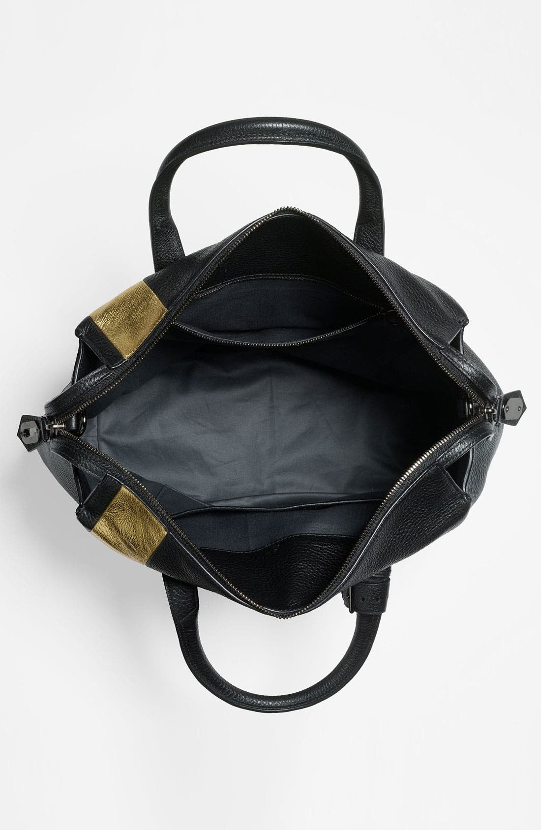 Alternate Image 3  - Reed Krakoff 'Gym Bag' Leather Satchel