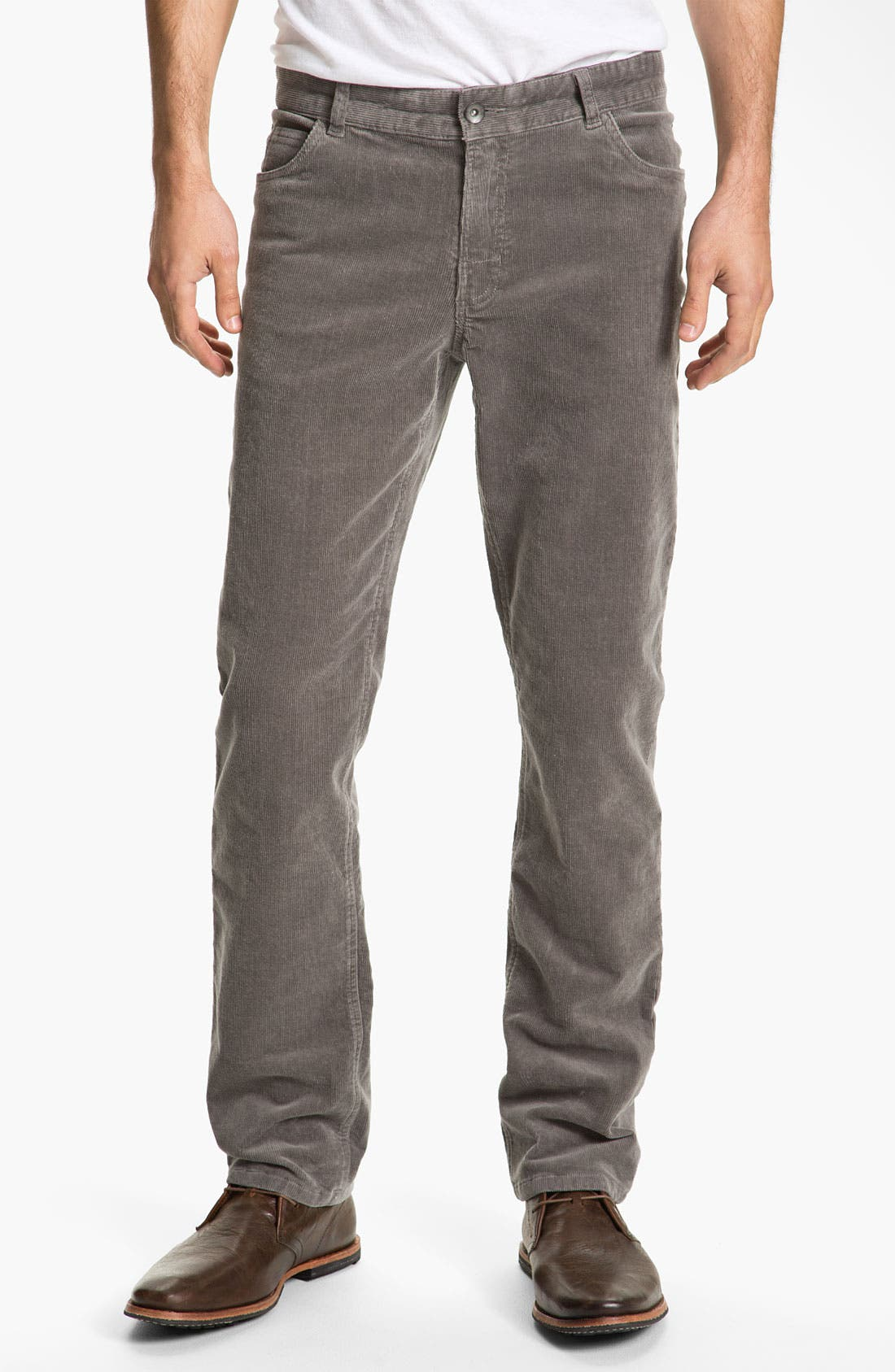 Alternate Image 2  - 1901 Straight Leg Corduroy Pants