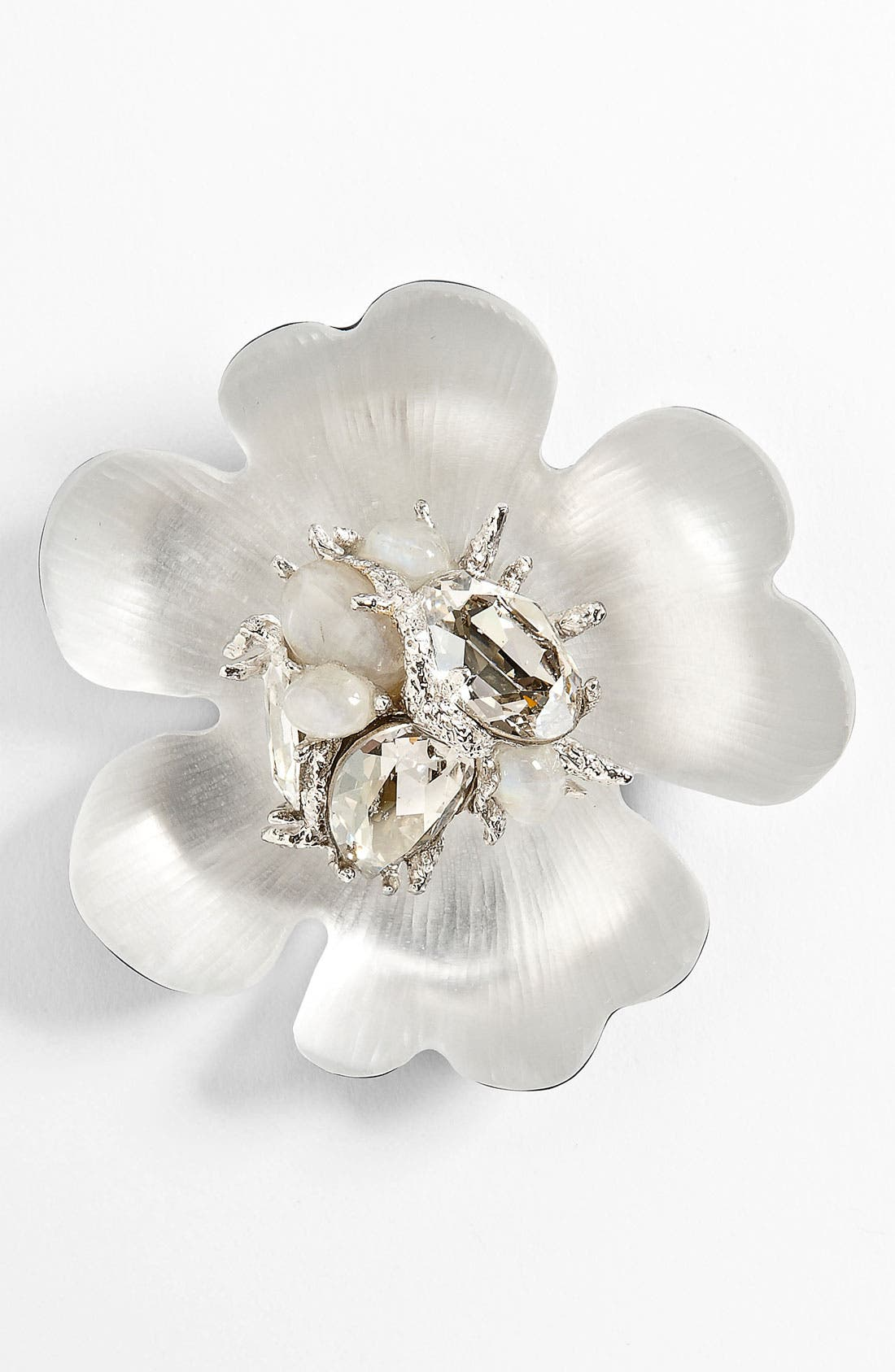 Main Image - Alexis Bittar Encrusted Flower Statement Pin (Nordstrom Exclusive)