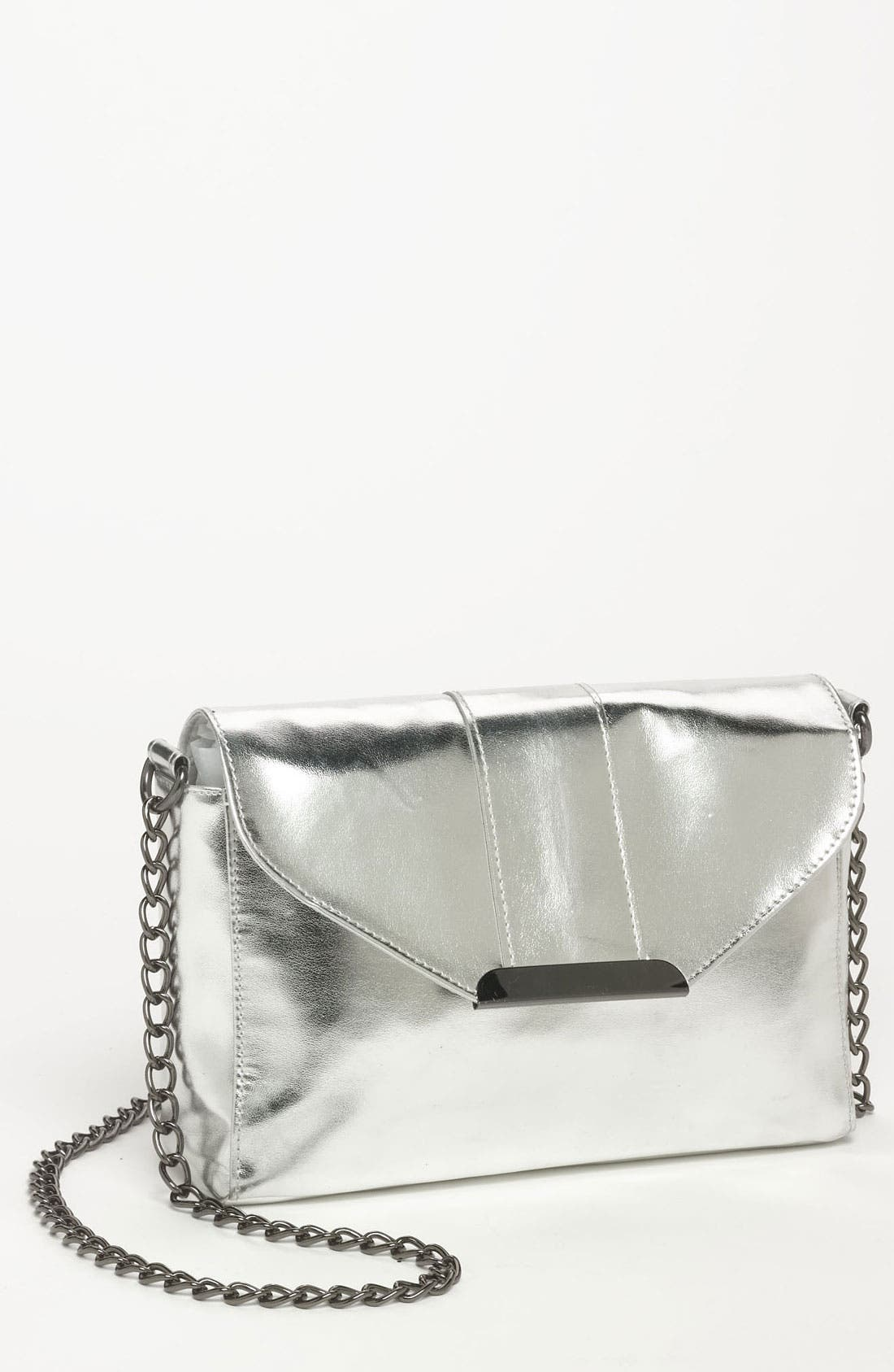 Alternate Image 1 Selected - Lulu Metallic Crossbody Bag