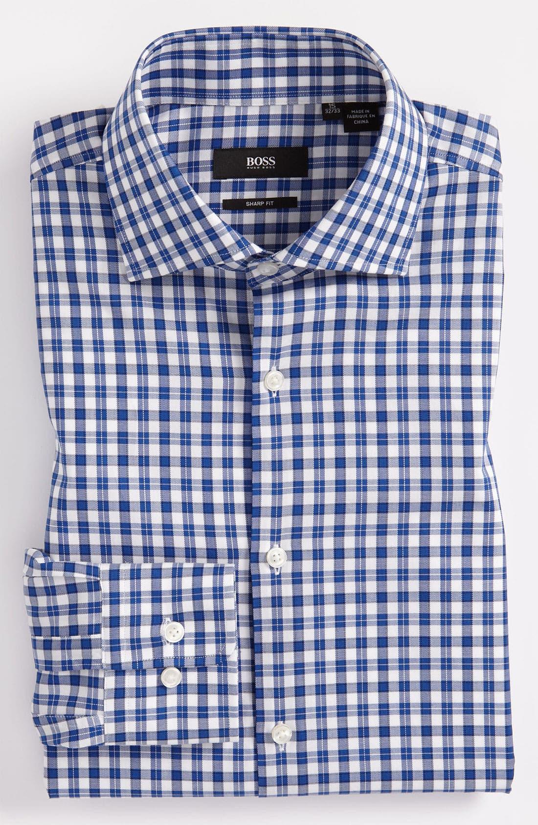 Alternate Image 1 Selected - BOSS Black Sharp Fit Dress Shirt