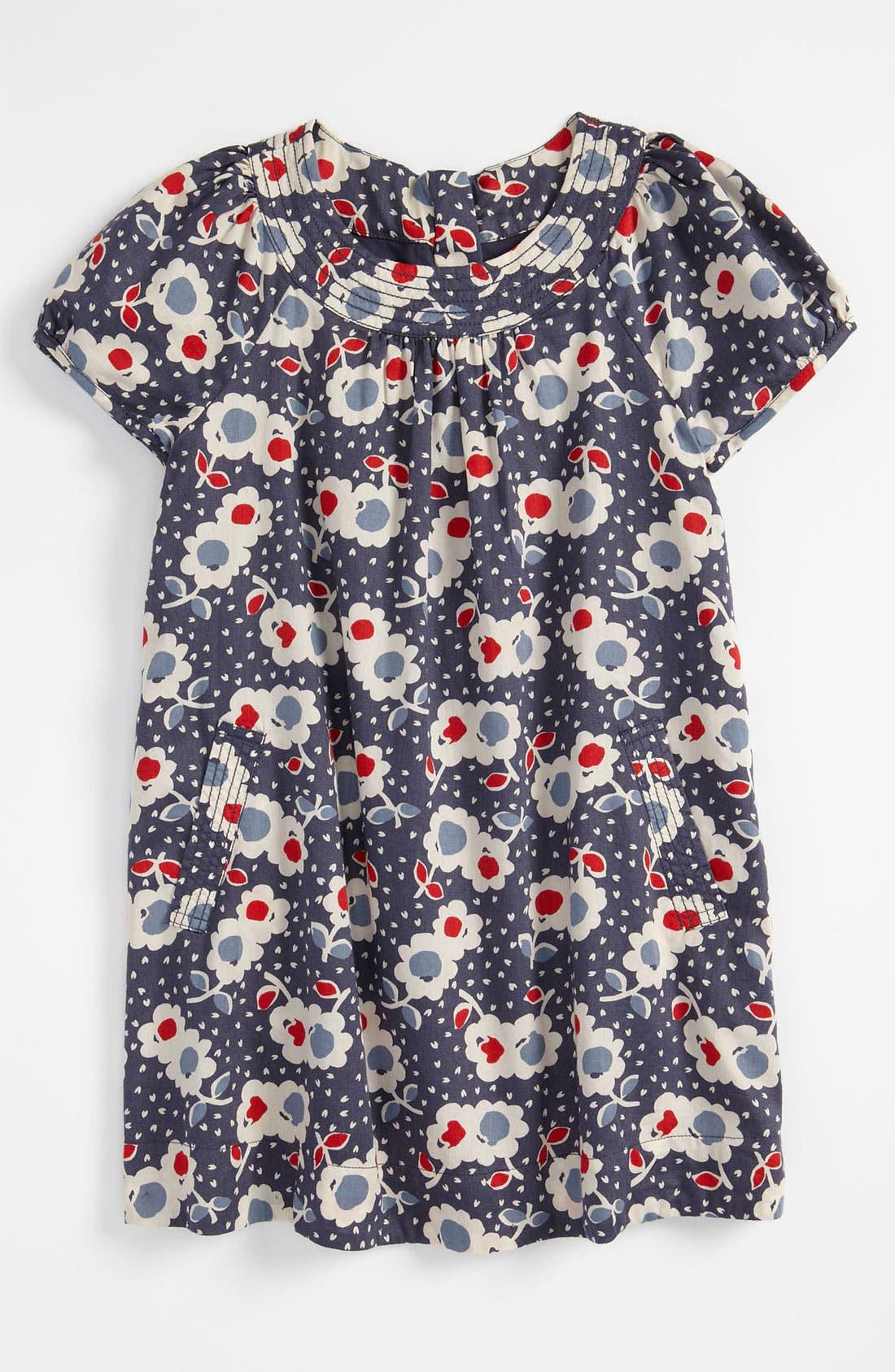 Alternate Image 1 Selected - Mini Boden 'Fun' Print Dress (Little Girls & Big Girls)