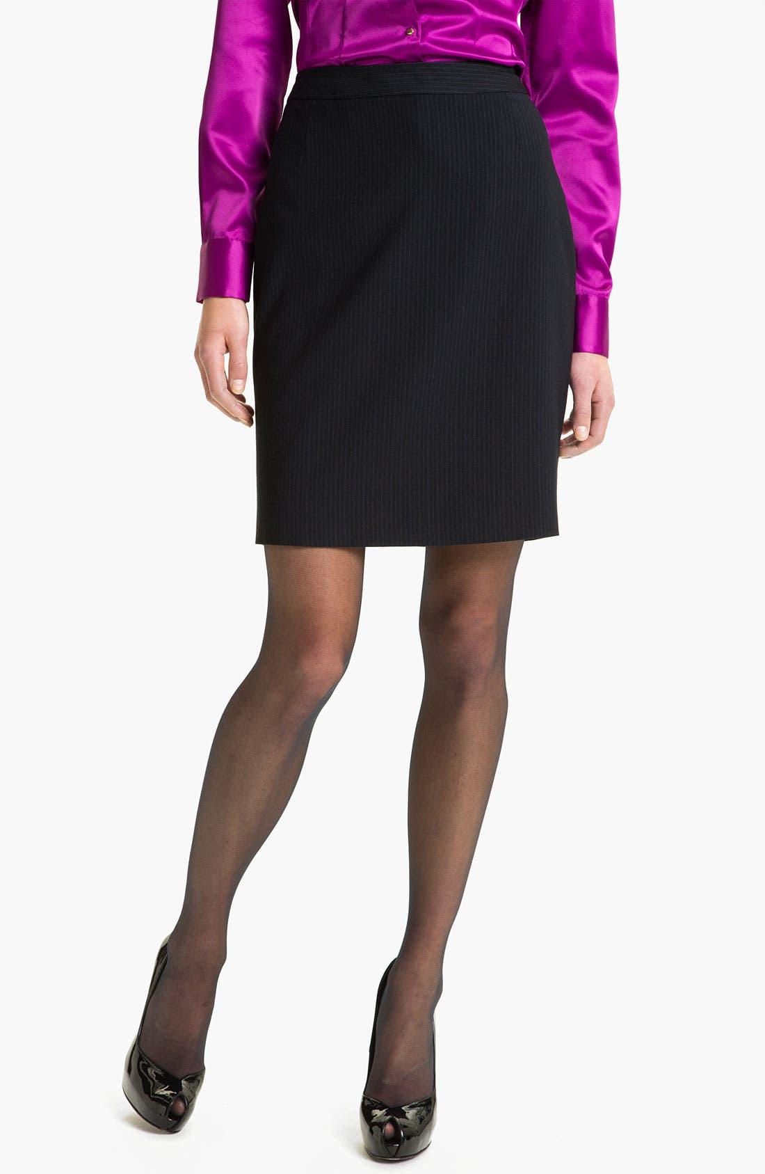 Alternate Image 1 Selected - T Tahari 'Demsy' Skirt (Petite)