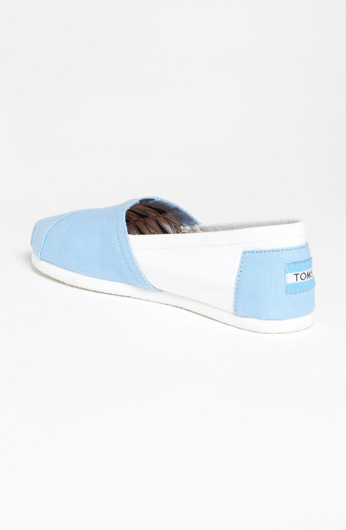 Alternate Image 2  - TOMS 'Campus Classics - UNC' Slip-On (Women)