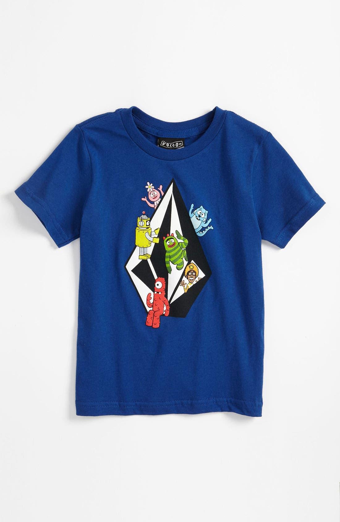 Alternate Image 1 Selected - Volcom 'Yo Gabba Gabba!' T-Shirt (Little Boys)