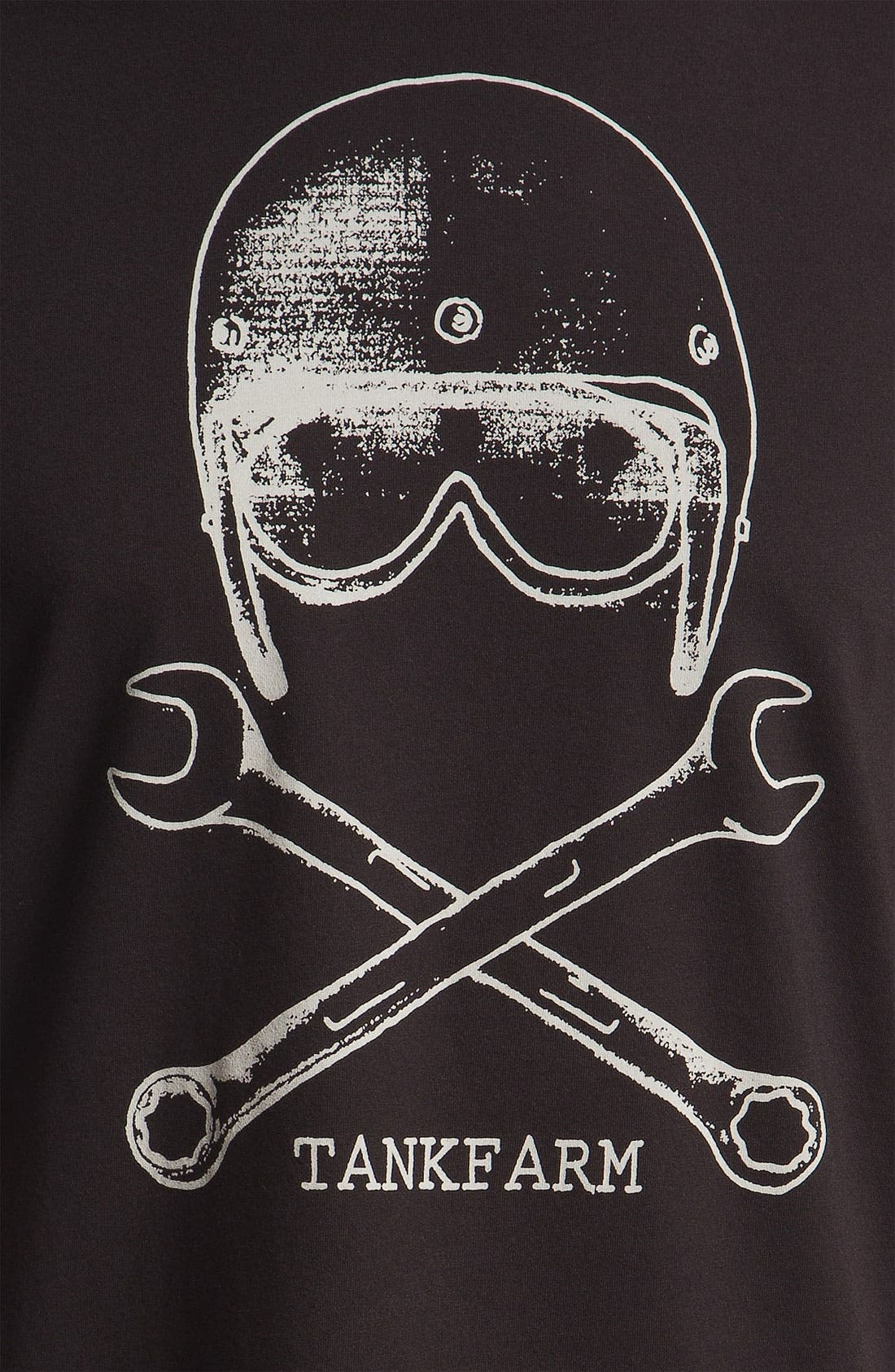 Alternate Image 3  - Tankfarm 'Skull & Wrench' T-Shirt