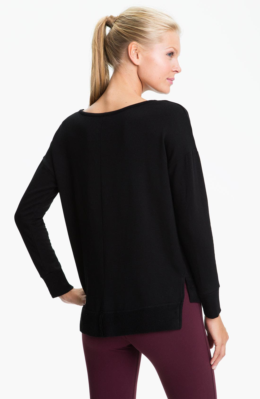 Alternate Image 2  - Beyond Yoga 'Shifted' Pullover