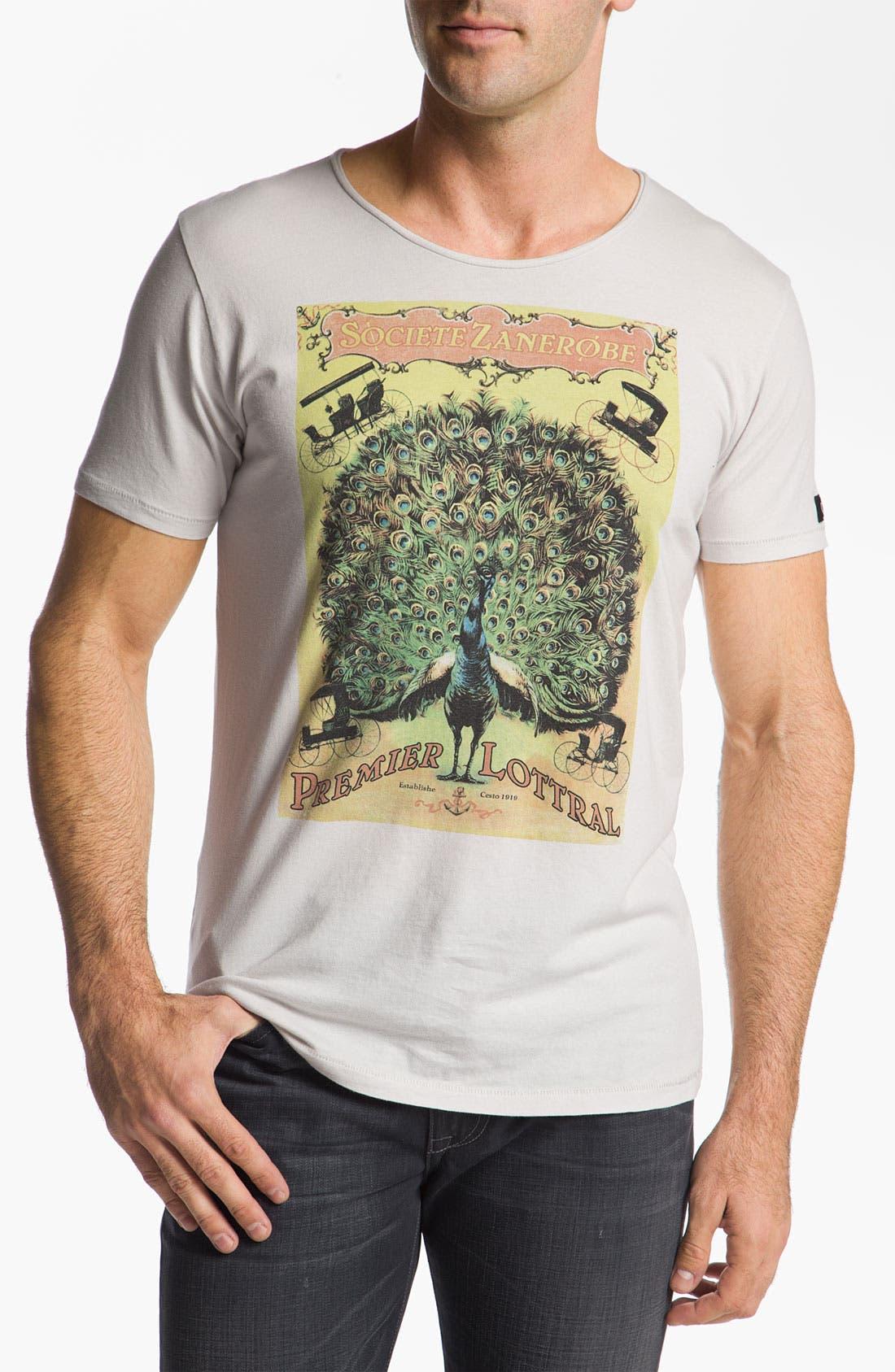 Alternate Image 1 Selected - Zanerobe 'Societe' T-Shirt