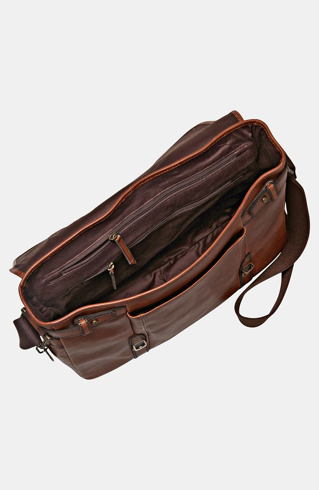 Alternate Image 3  - Fossil 'Estate' Leather Messenger Bag