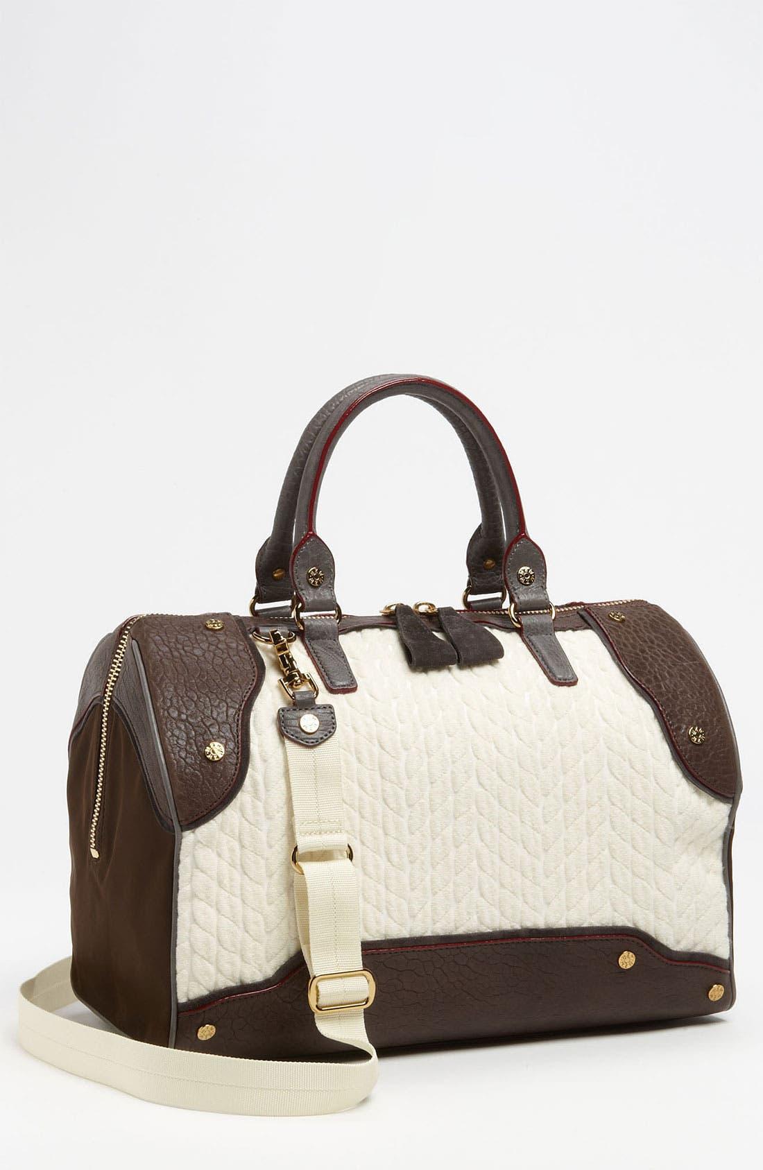 Alternate Image 1 Selected - MZ Wallace 'Jesse' Faux Chinchilla Handbag
