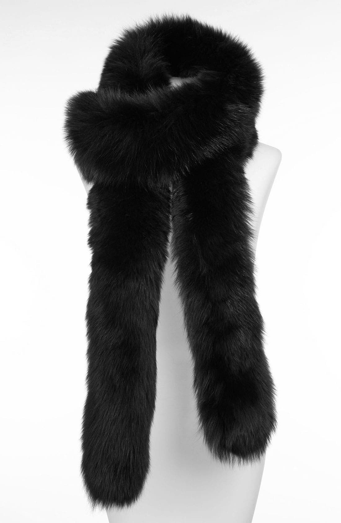 Main Image - Rachel Zoe Genuine Fox Fur Scarf