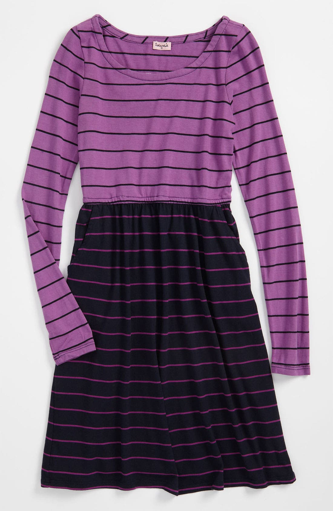 Main Image - Splendid 'Lacrosse Stripe' Dress (Big Girls)