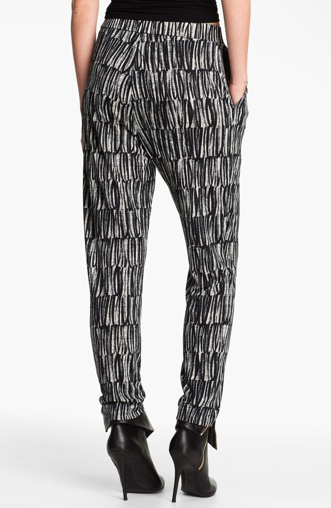 Alternate Image 2  - Cut25 Print Jersey Pants