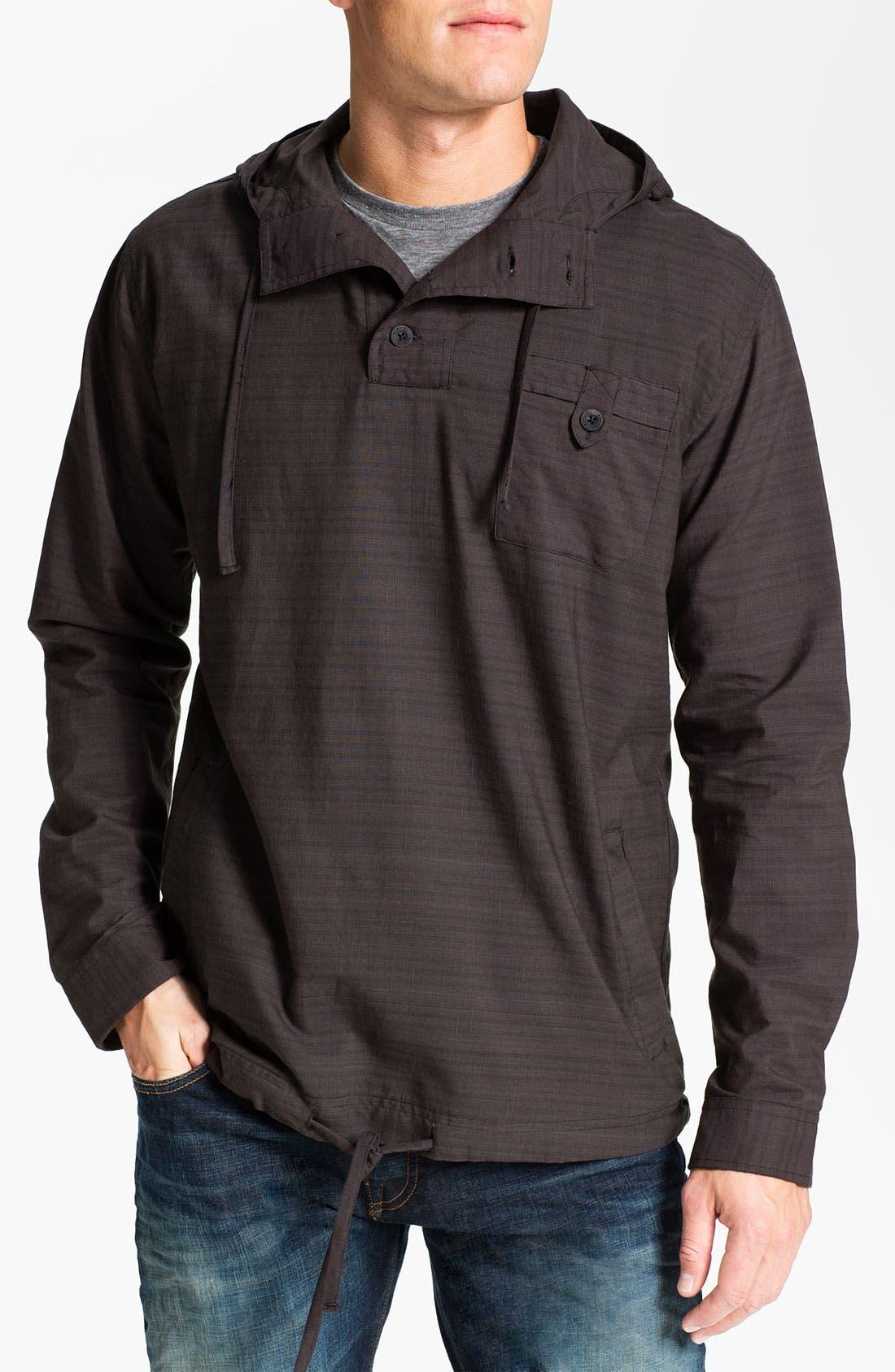 Main Image - Ezekiel 'Cedar' Hooded Woven Pullover