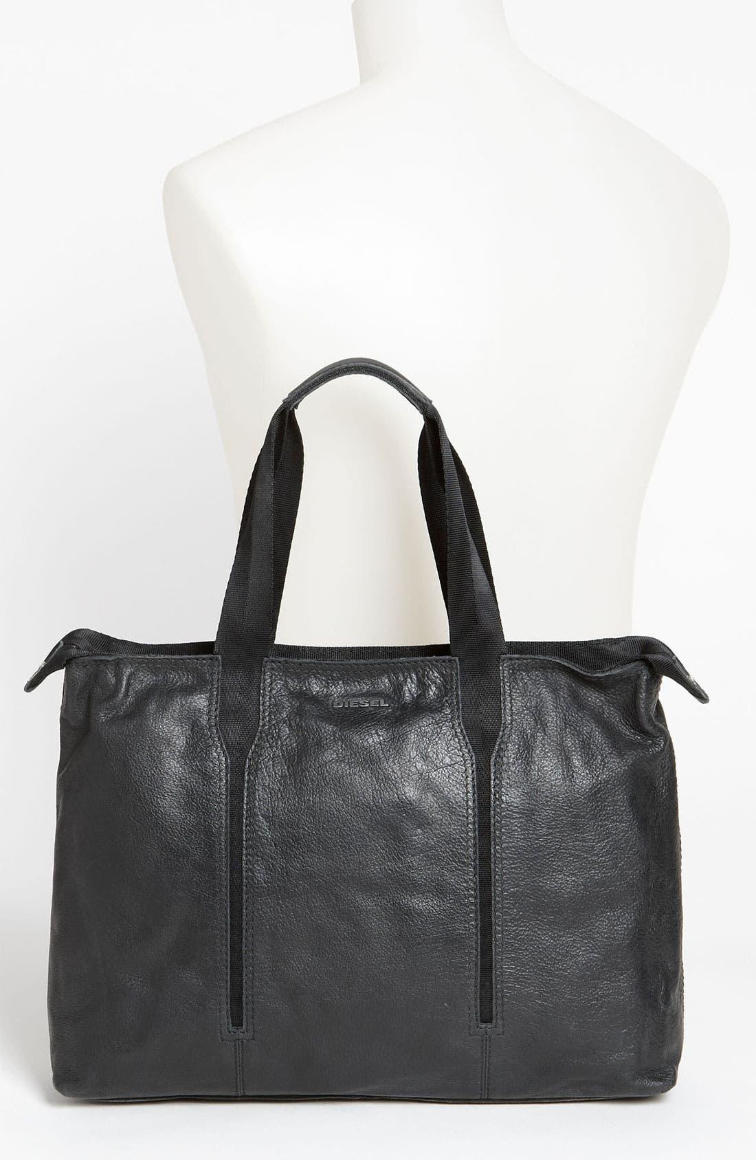 Alternate Image 2  - DIESEL® 'City Slicky' Tote Bag