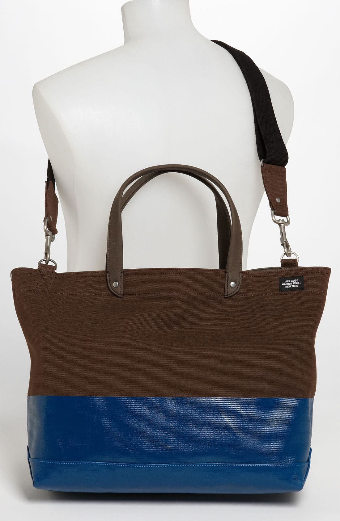 Alternate Image 4  - Jack Spade 'Industrial Dipped Coal' Canvas Bag