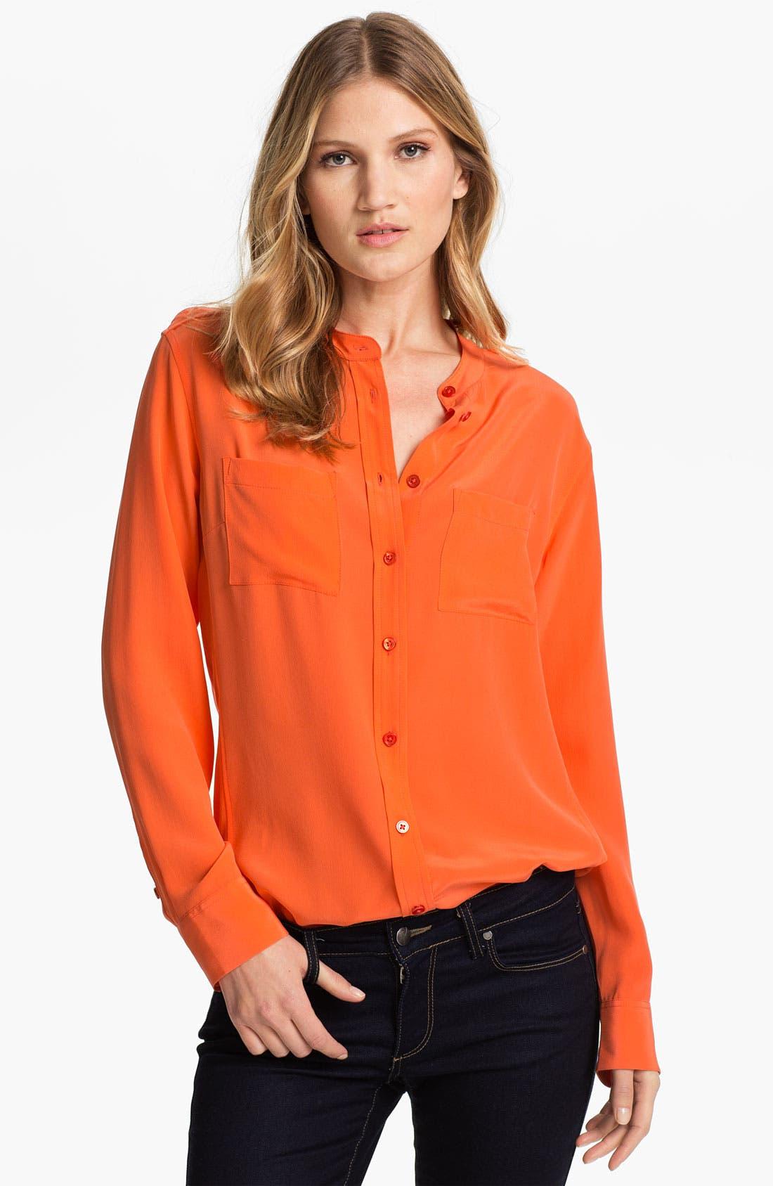 Alternate Image 1 Selected - Equipment 'Carmen' Silk Shirt