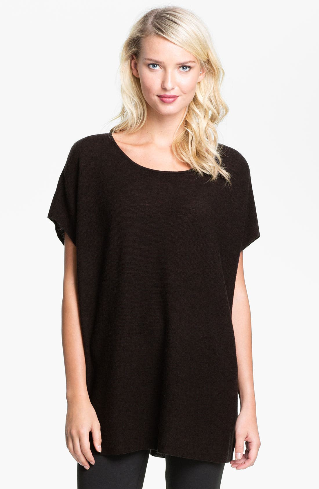 Alternate Image 1 Selected - Eileen Fisher Jewel Neck Tunic