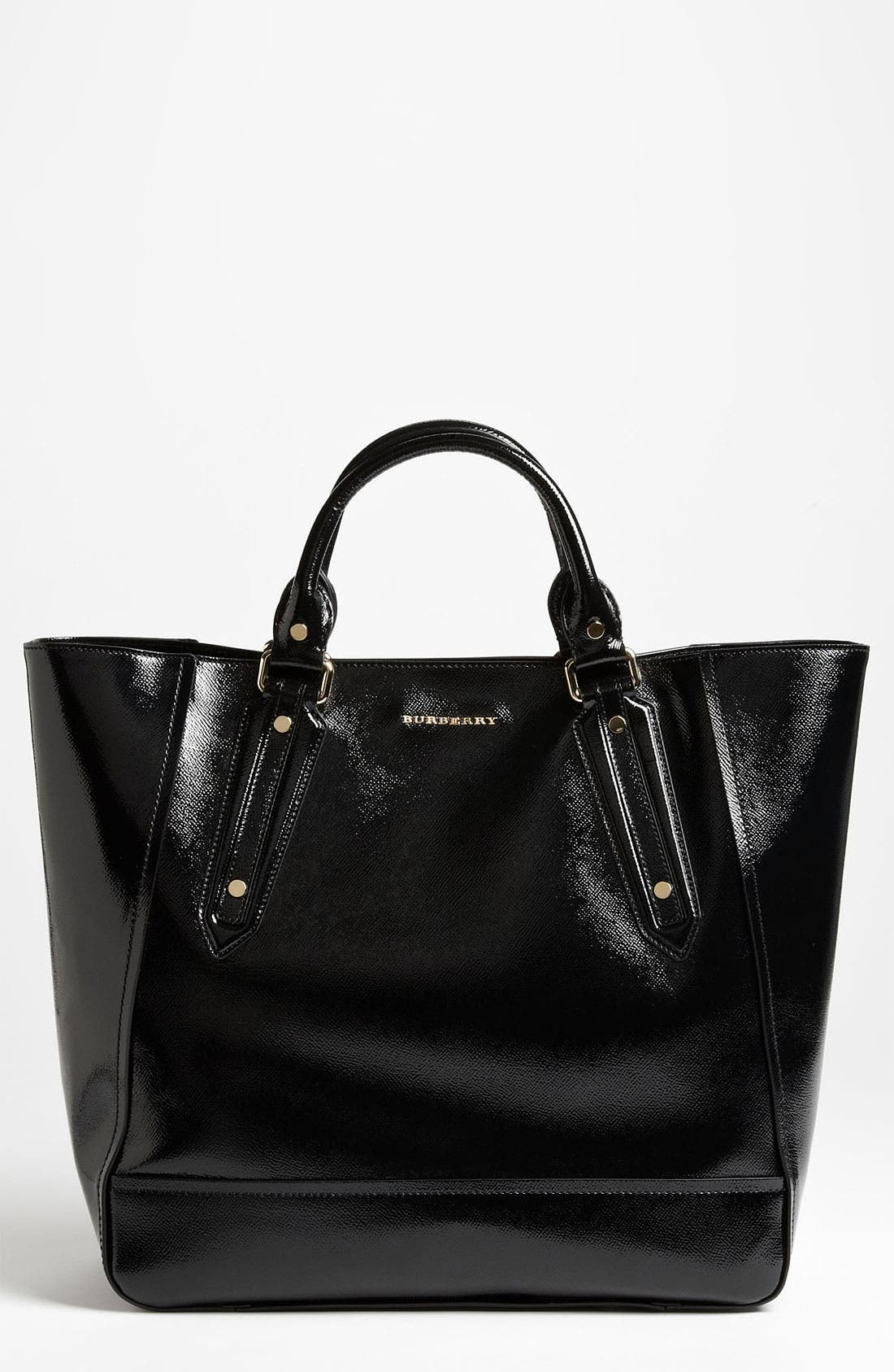 Main Image - Burberry Patent Leather Tote