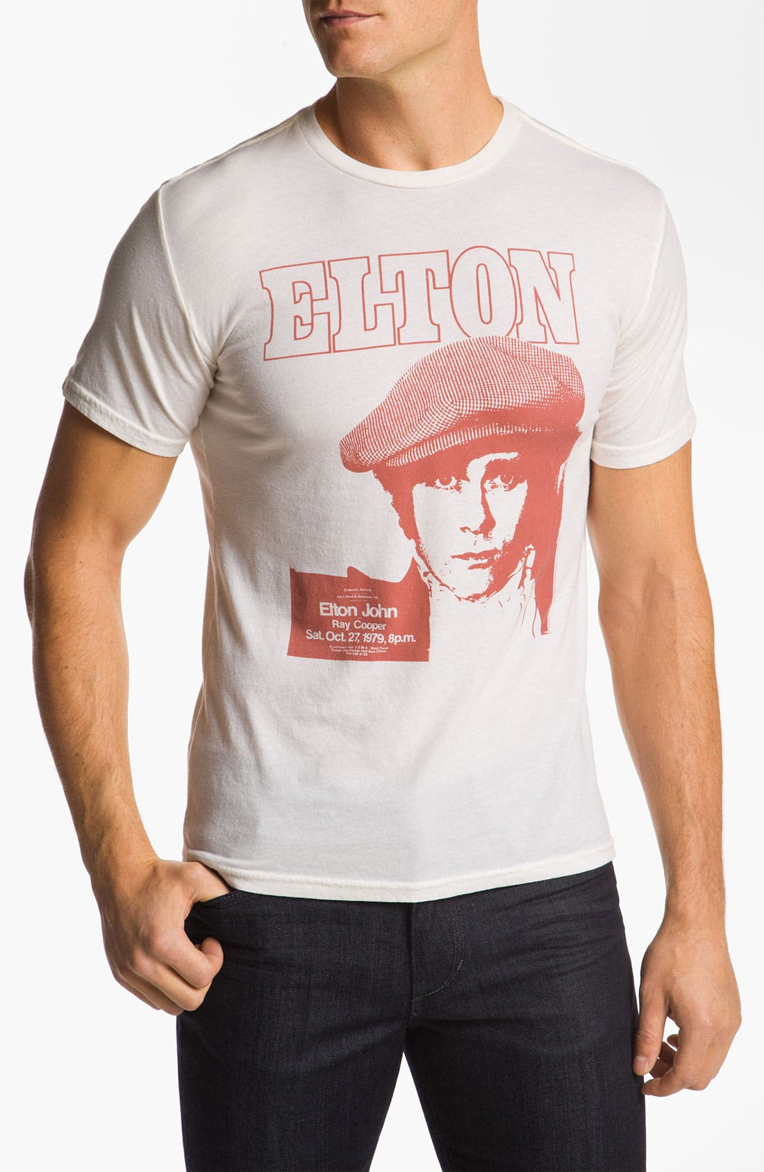 Alternate Image 1 Selected - Chaser 'News Boy Elton John' T-Shirt