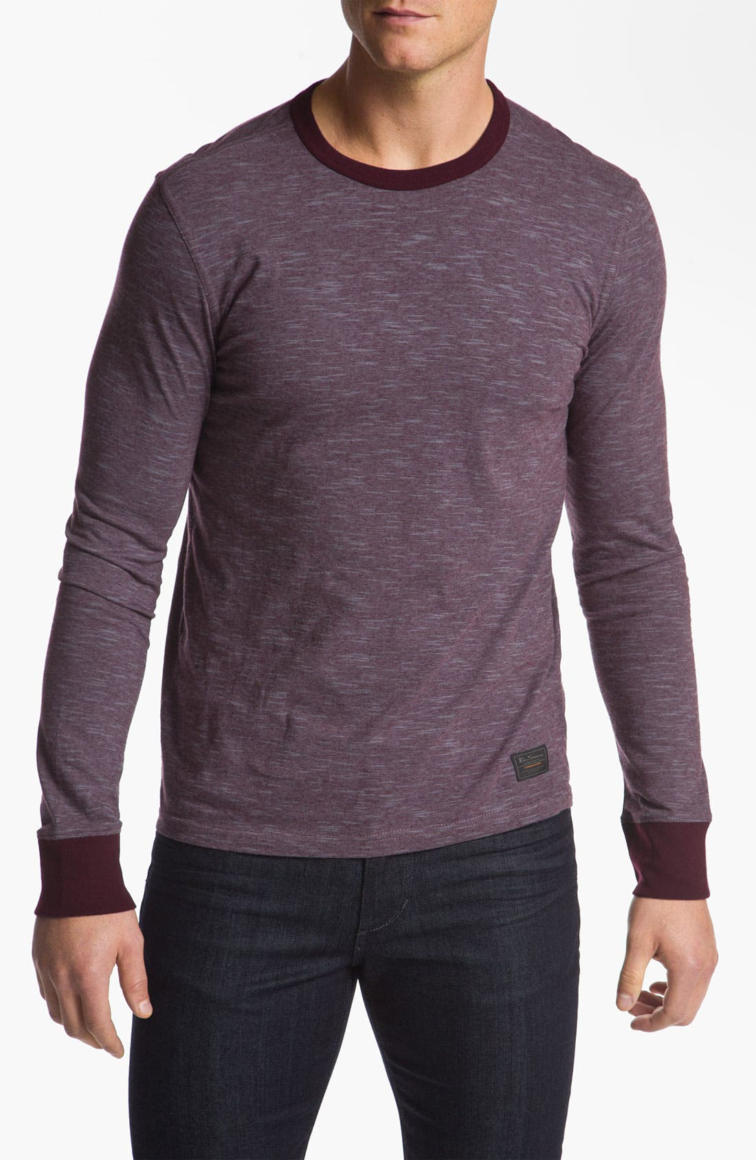 Alternate Image 1 Selected - Ben Sherman Crewneck Shirt