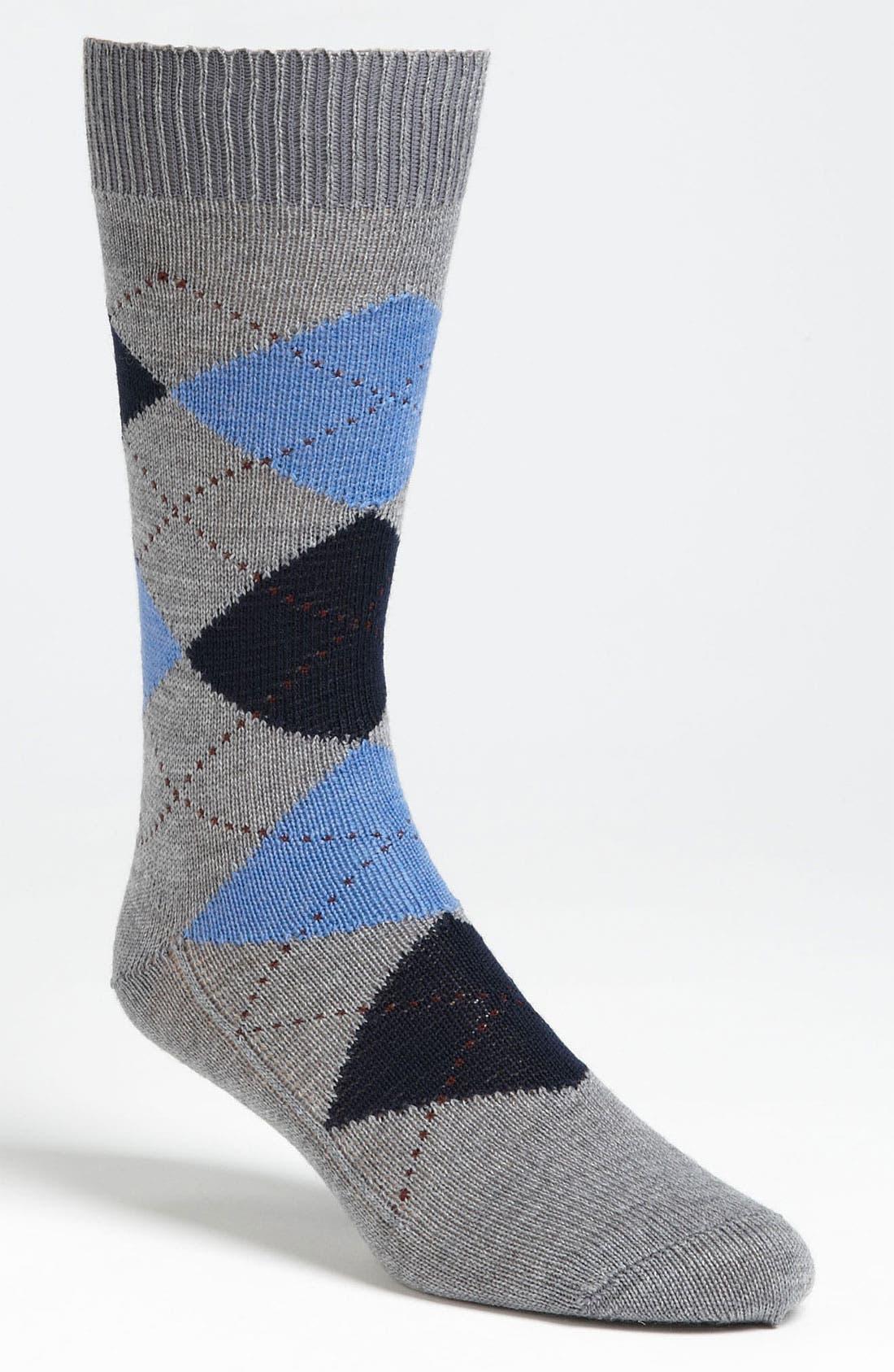 Alternate Image 1 Selected - Brooks Brothers Argyle Socks