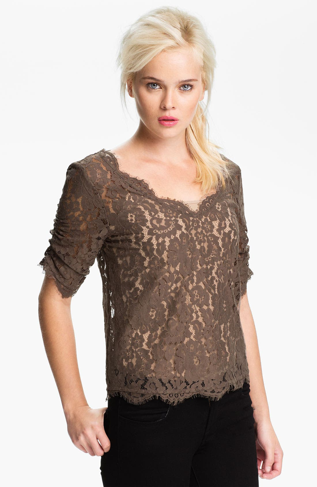 Alternate Image 1 Selected - Joie 'Nevina' Lace Top