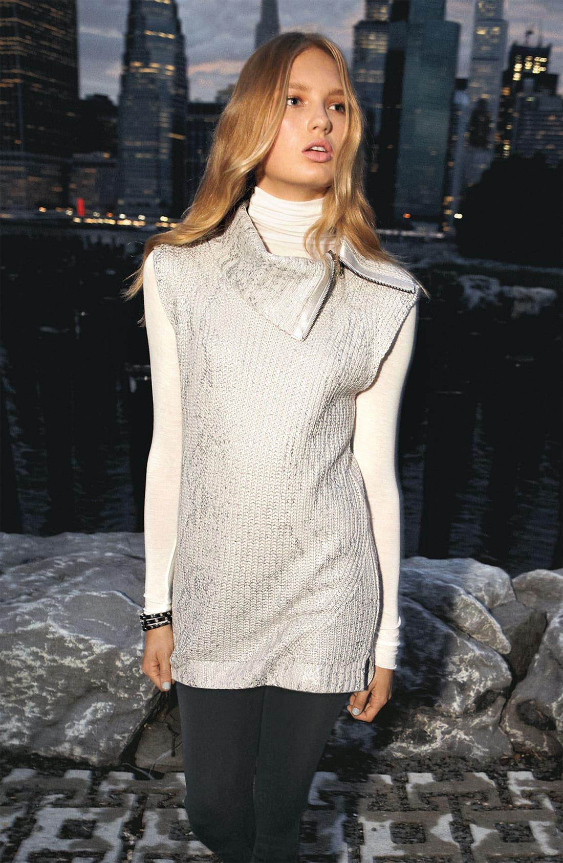 Alternate Image 3  - Trouvé Metallic Sweater Vest