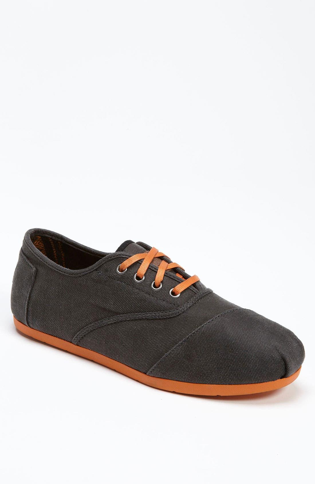 Alternate Image 1 Selected - TOMS 'Cordones' Twill Sneaker (Men) (Nordstrom Exclusive)