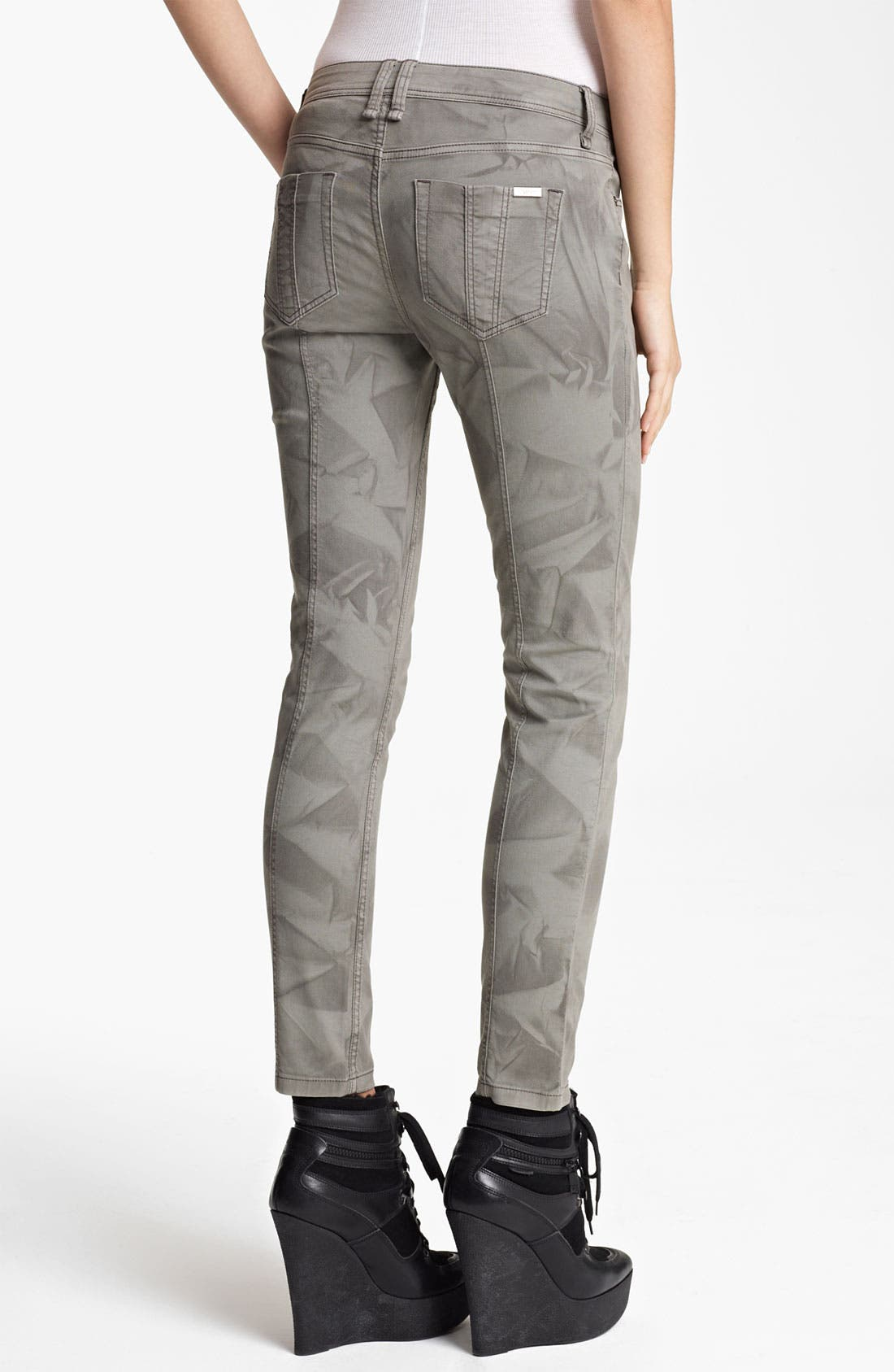 Alternate Image 2  - Burberry Brit Crumple Dye Pants (Online Exclusive)
