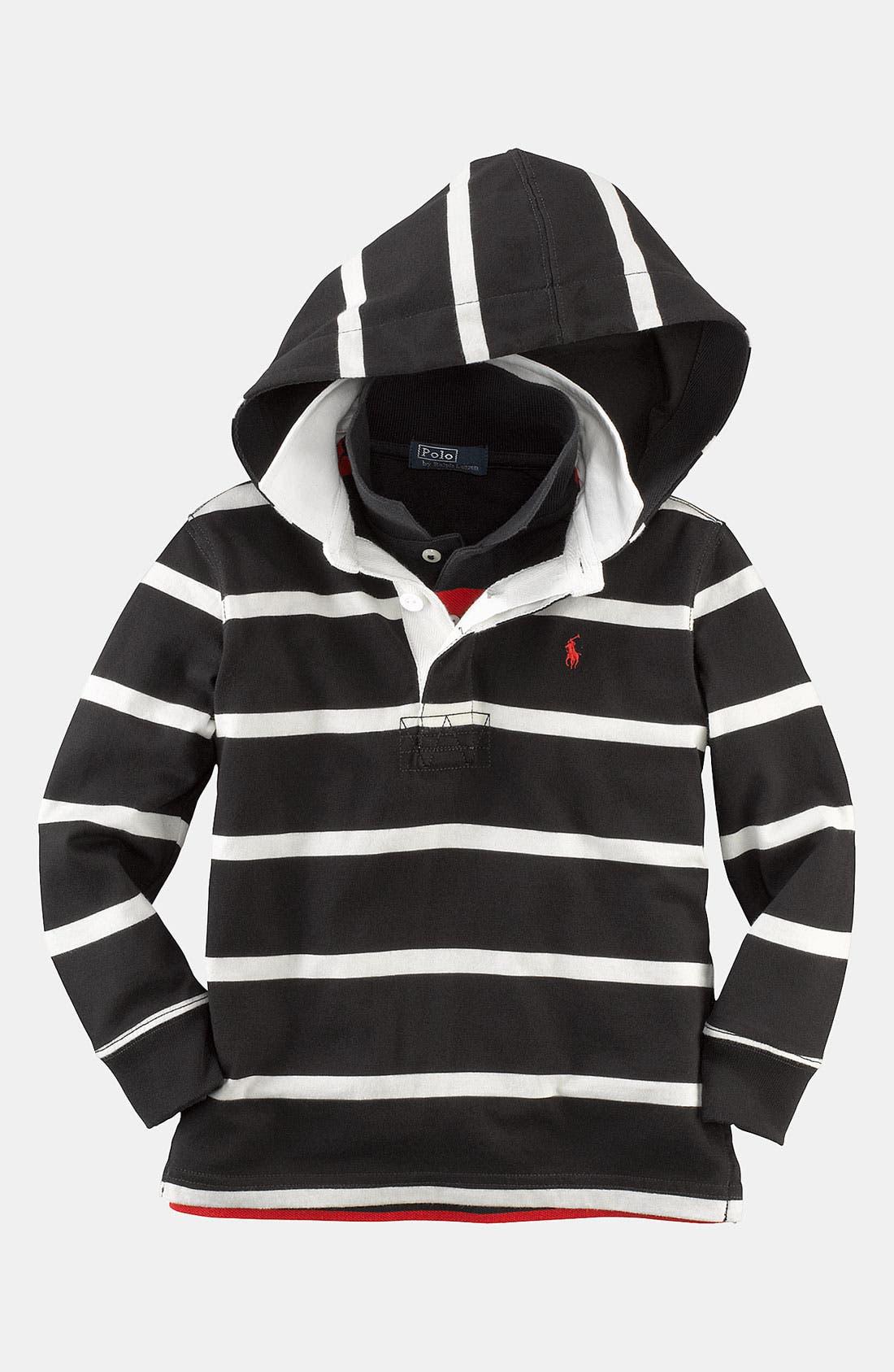 Alternate Image 1 Selected - Ralph Lauren Utility Shirt (Toddler)
