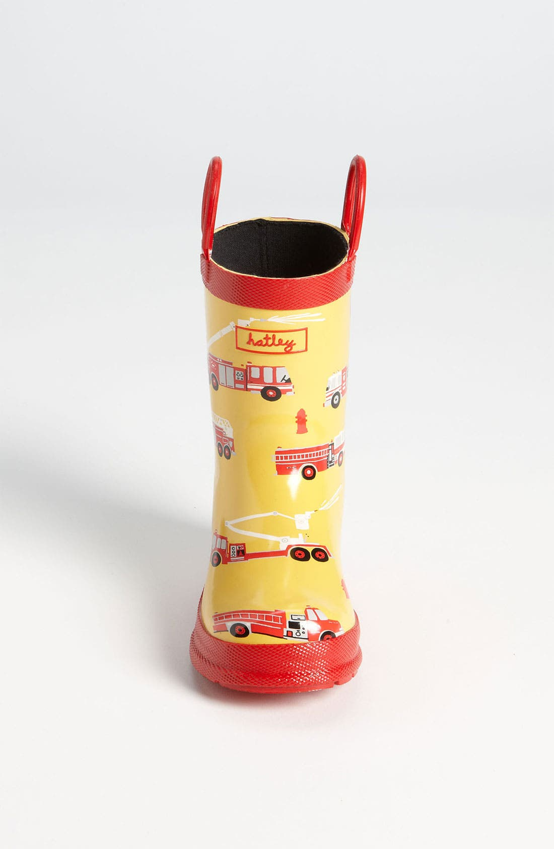 Alternate Image 3  - Hatley 'Fire Trucks' Rain Boot (Walker, Toddler & Little Kid)