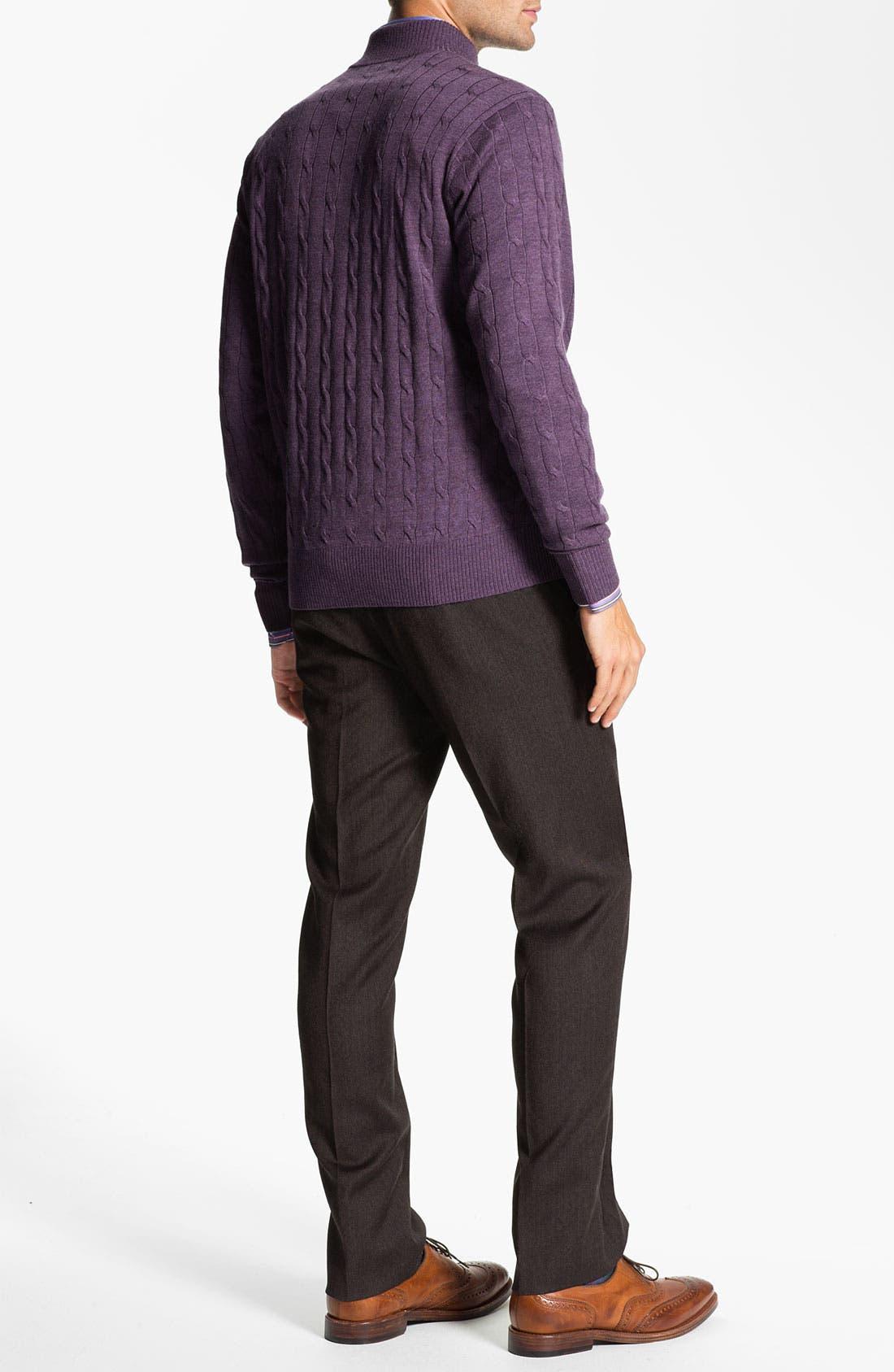 Alternate Image 4  - Peter Millar 'Pop Stripe' Sport Shirt
