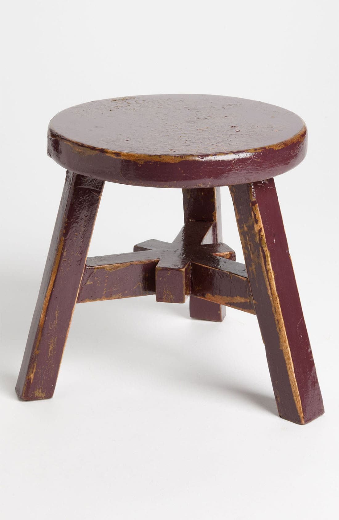 Main Image - Small Decorative Wood Stool