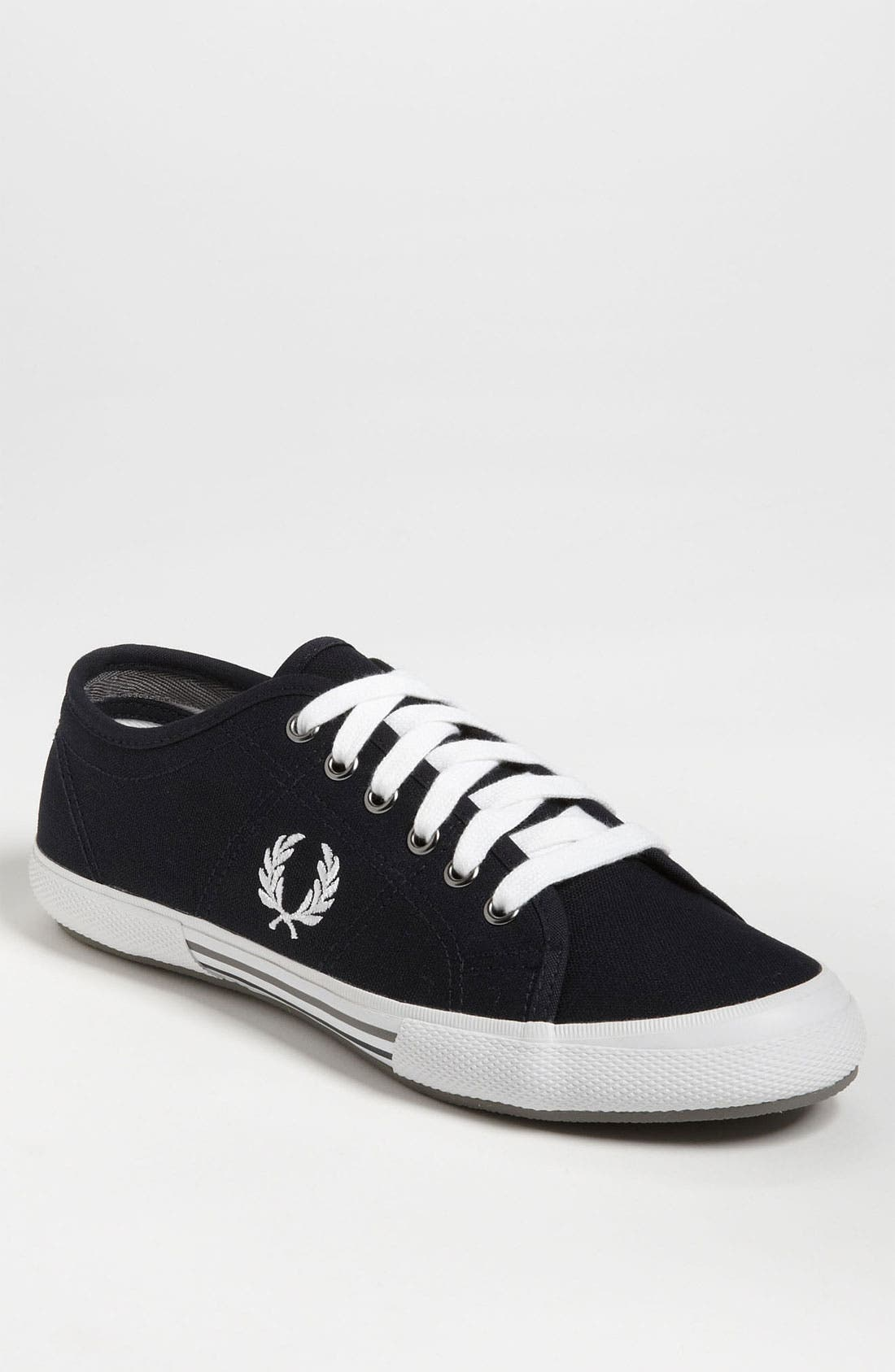 Main Image - Fred Perry Vintage Canvas Tennis Sneaker