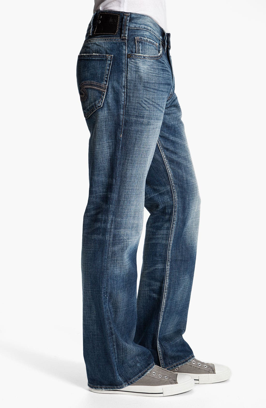 Alternate Image 3  - Silver Jeans Co. 'Grayson' Relaxed Bootcut Jeans (Indigo)