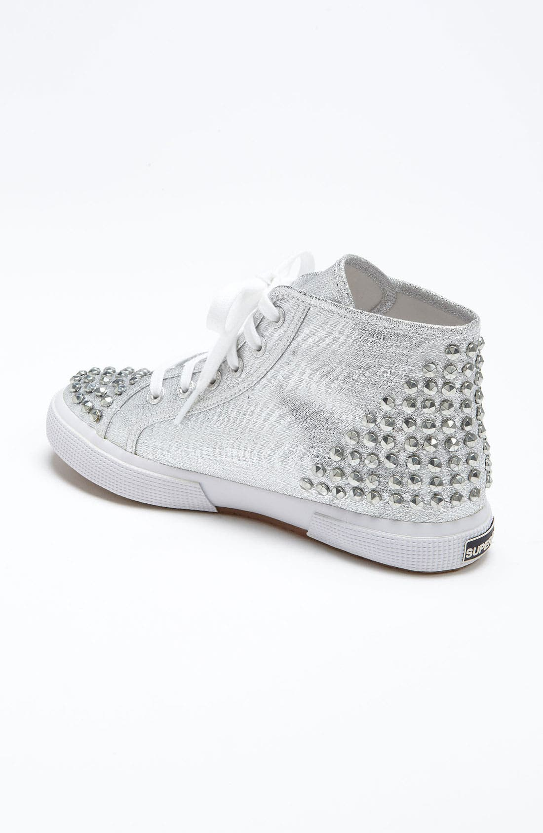 Alternate Image 2  - Superga 'Lamé Studs' Sneaker (Women)