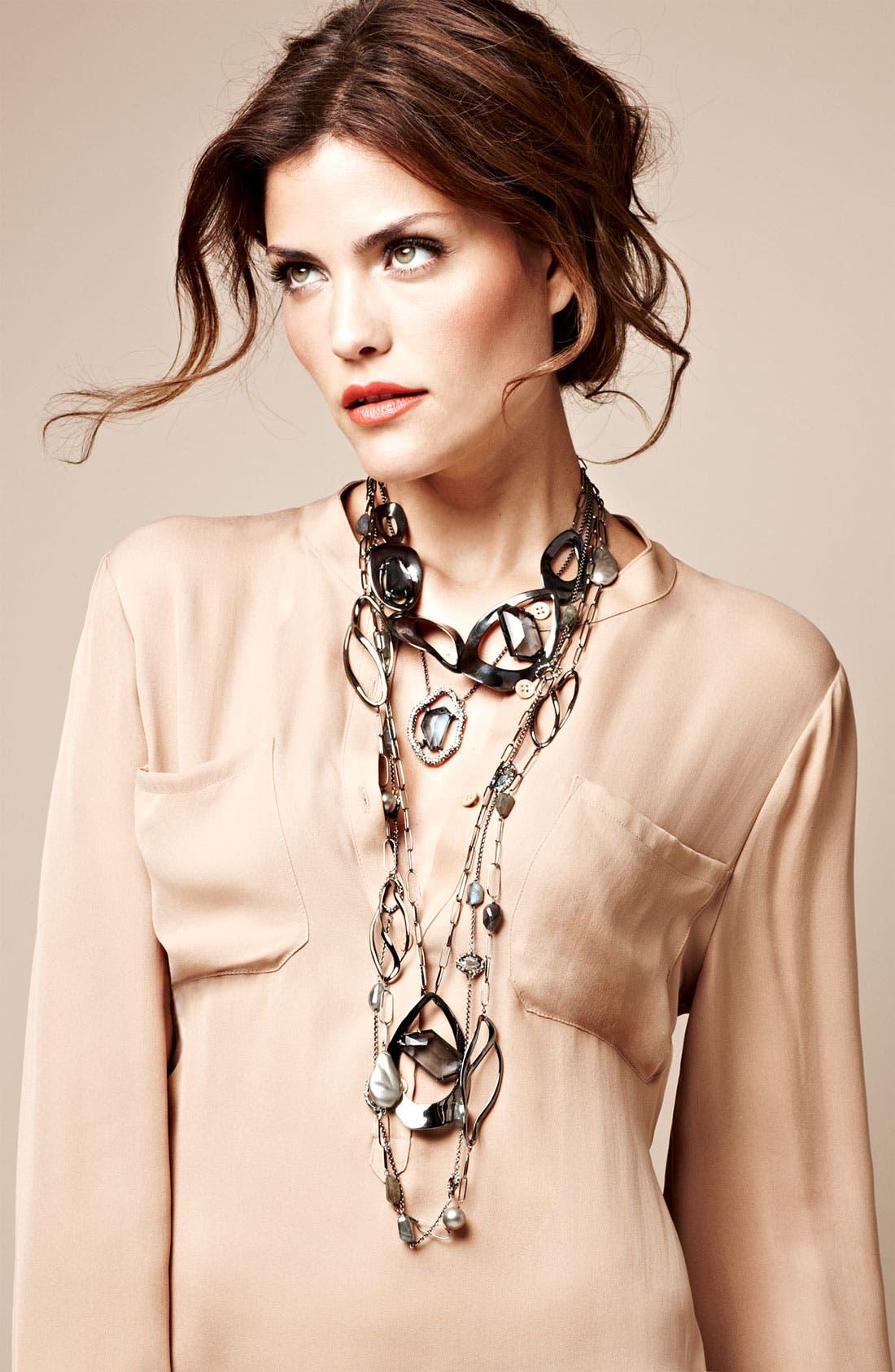 Alternate Image 3  - Alexis Bittar 'Miss Havisham - Liquid' Linked Station Necklace (Nordstrom Exclusive)
