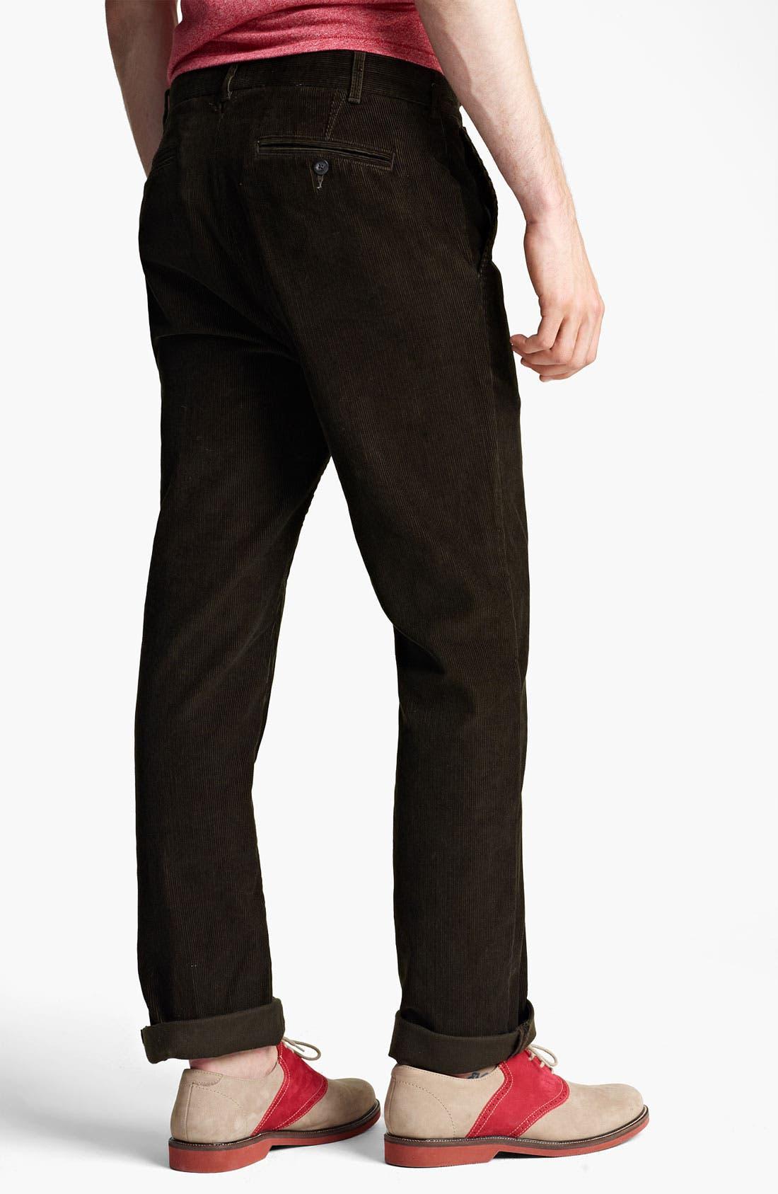 Alternate Image 2  - Jack Spade 'Dolan' Straight Leg Corduroy Pants